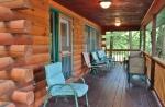 Cove side porch