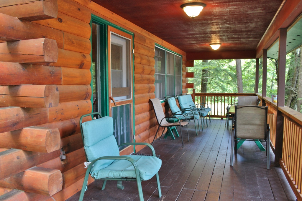 Cove side porch