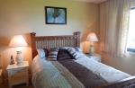 French Village condo bedroom