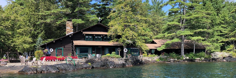 Lake George cottages