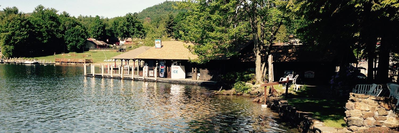 Lake George marina